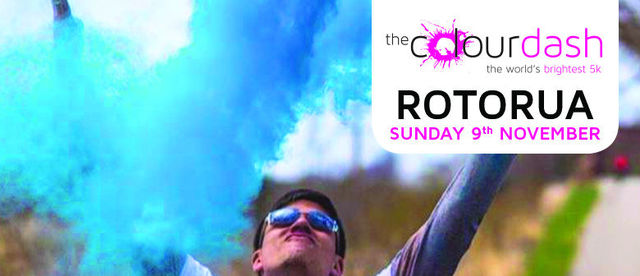 The Rotorua Colour Dash